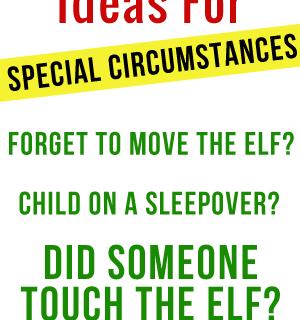 Elf On The Shelf Emergency Tips