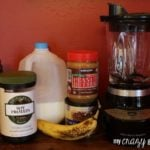 Ingredients Chocolate Peanut Butter Banana Smoothie