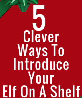 Looking for a few clever ways to introduce your Elf on A Shelf this year? Here are our favorite elf hiding spots!