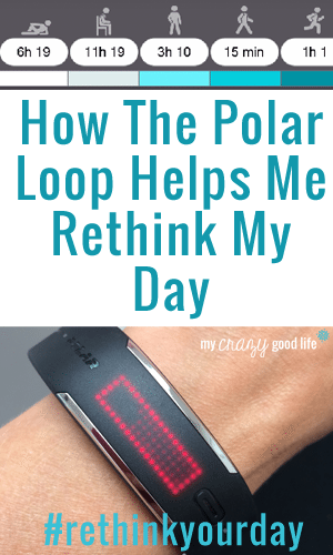 How Polar Loop Helps Me Rethink My Day  #RethinkYourDay #Fitfluential
