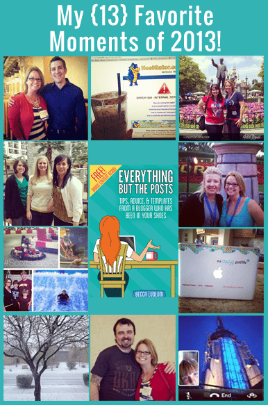 13 Favorite Moments of 2013