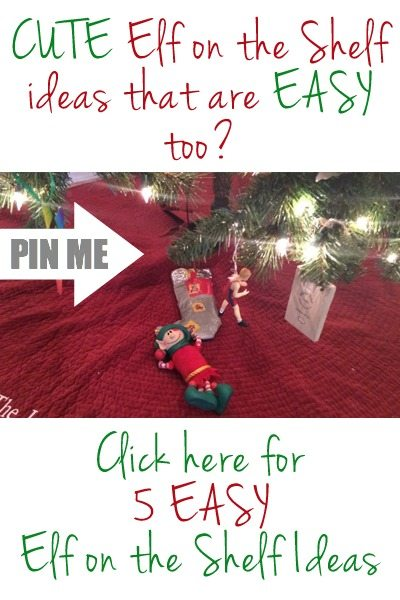 If you're looking for some easy elf on the shelf ideas, click here! Don't stress about your elf–simple elf ideas are fun for kids, too! All of these easy elf on the shelf ideas are fun, exciting, and totally simple to put together. You'll have all the easy elf on the shelf ideas you need! Elf on the Shelf Ideas | Easy Elf on the Shelf Ideas | Simple Elf on the Shelf Ideas