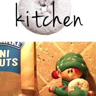 Elf on the Shelf Kitchen ideas