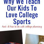 Why We Teach Our Kids To Love College Sports