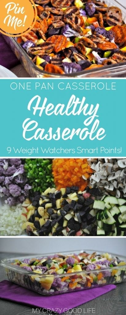 This 21 Day Fix Casserole Recipe is great for nights that you want healthy comfort food without the calorie-laden creamy soups! It's only 9 Smart Points per serving on Weight Watchers