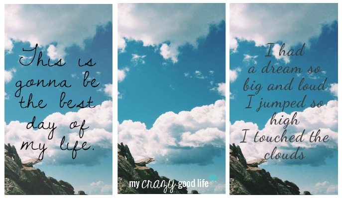 Best Day Of My Life Lyrics Wallpapers