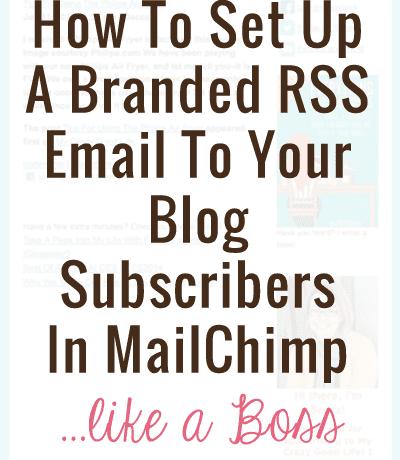 How to set up MailChimp like a Boss.