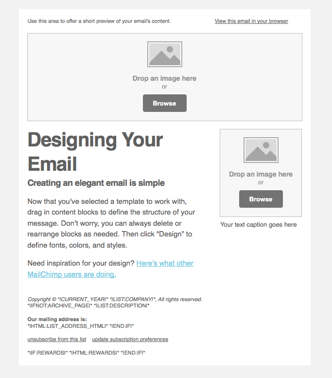 How to set up MailChimp like a Boss.