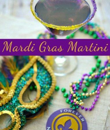Mardi Gras Martini Recipe