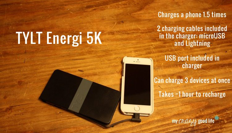 TYLT Energi5K portable battery charger