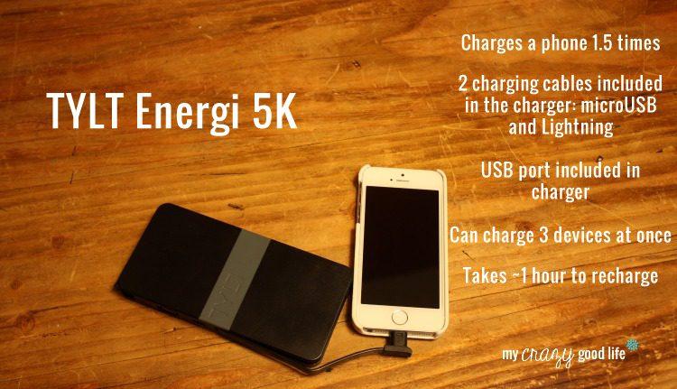 TYLT Energi5K portable battery charger