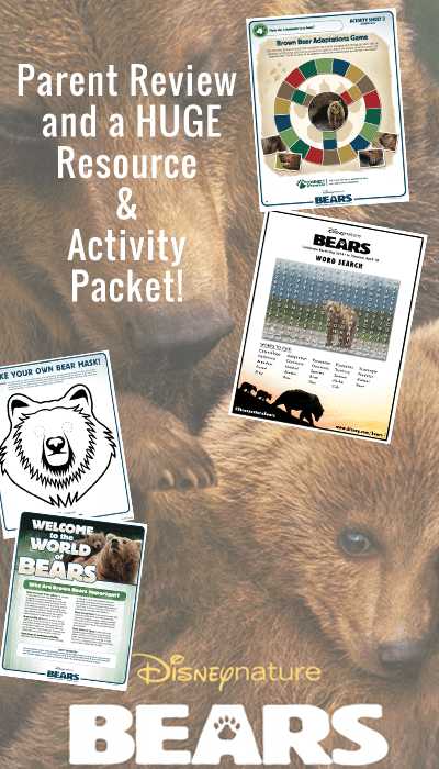 BEARS Parent Review and HUGE Activity Packet!