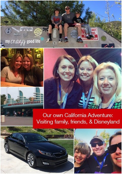 Our Own California Adventure: Visiting Family, Friends, and Disneyland!