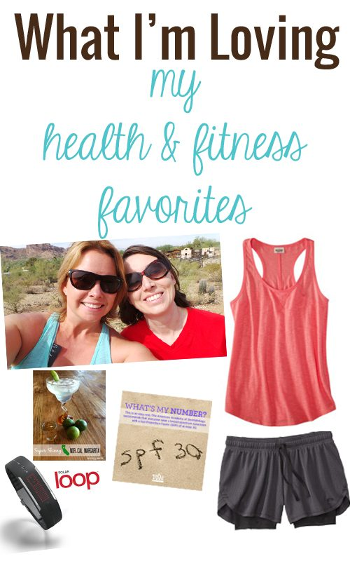 What I'm loving: my health & fitness favorites