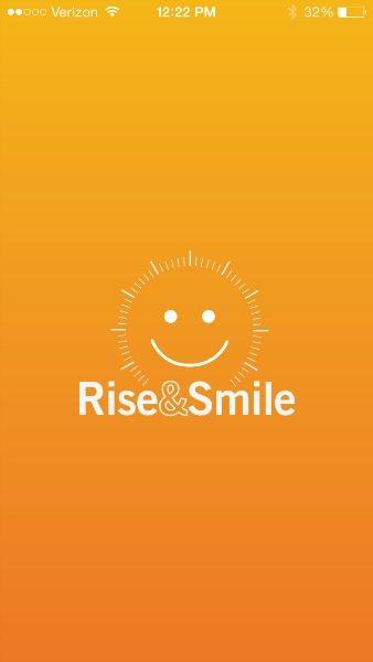 Rise&Smile App