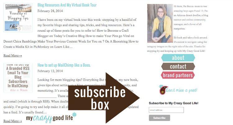 MailChimp Subscribe Box