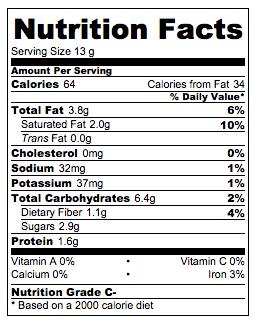 Oatmeal Energy Bites Nutrition Info