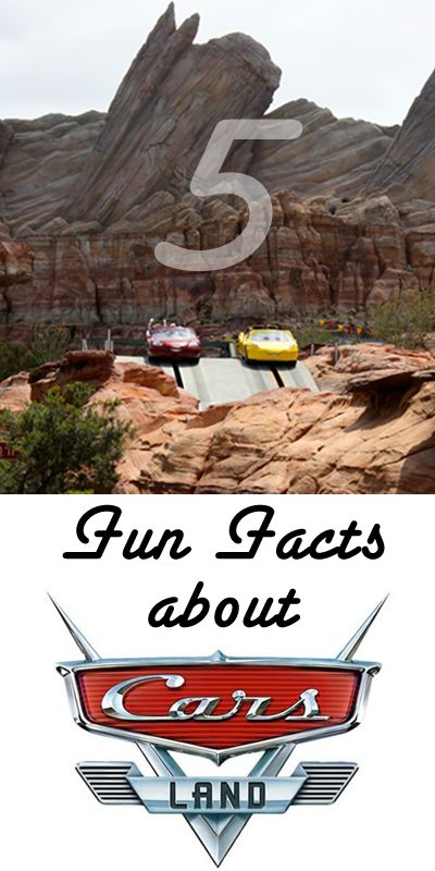 5 fun facts about Cars Land