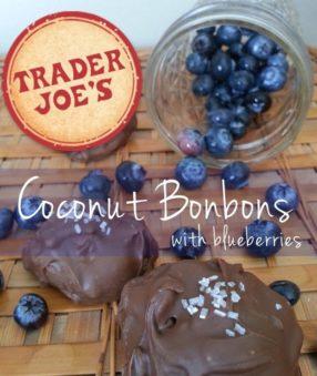 Trader Joe's Coconut Bonbon Recipe (with blueberries!)