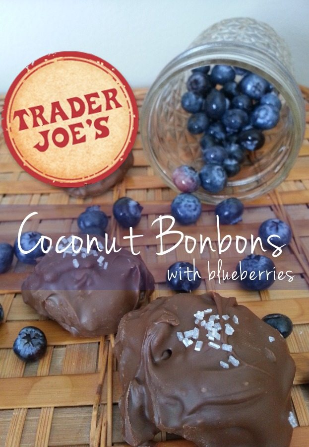 Trader Joe's Coconut Bonbon Recipe (with blueberries!)