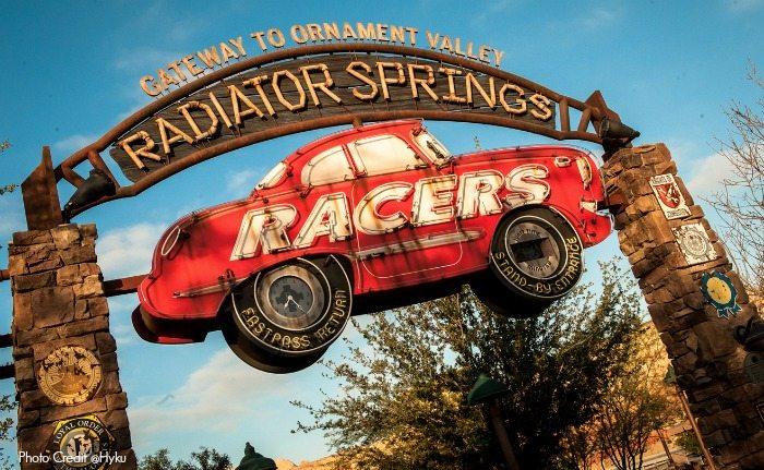 Radiator Springs Racers in Cars Land