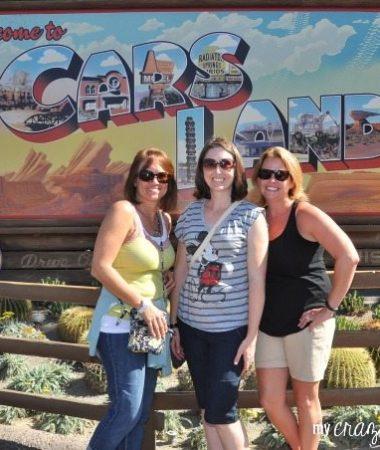 Cars land in Disneyland Resort