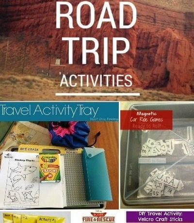 Although going on a road trip can be a great way to get some quality family time, it can also get a little boring after the first few miles. Here are a few activities and games you can use for smooth sailing on your next road trip | Road Trip Activities to keep your little ones busy!