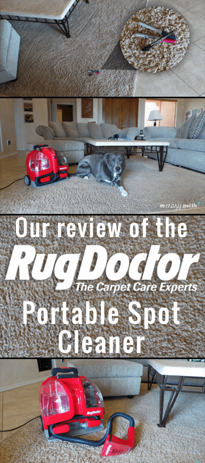 Our review of the Rug Doctor Portable Spot Cleaner