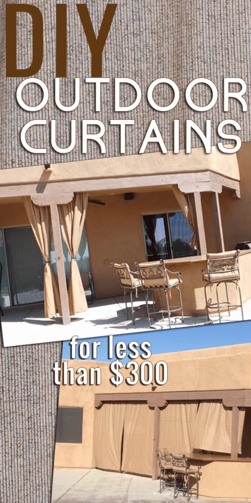 DIY Outdoor Curtains: A Tutorial