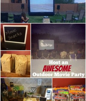 How to Host an Awesome Outdoor Movie Party