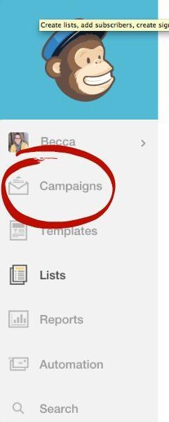 Edit a MailChimp Campaign