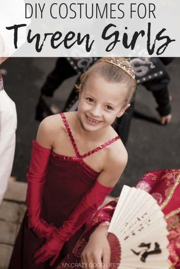 Diy Tween Girl Costume Ideas My Crazy Good Life
