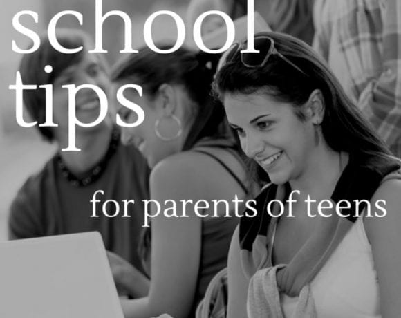 Back to school tips for parents of teens