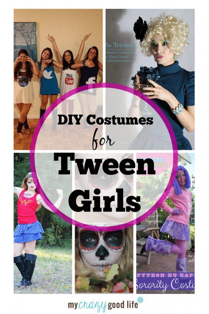 Diy tween girl costume ideas my crazy good life age appropriate diy tween girl costume ideas solutioingenieria Choice Image