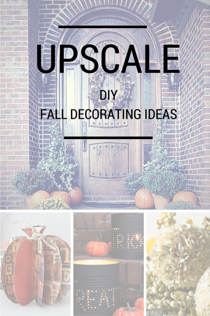Upscale Fall decorating ideas from around the country
