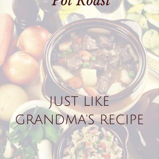 Clean Eating Pot Roast Recipe