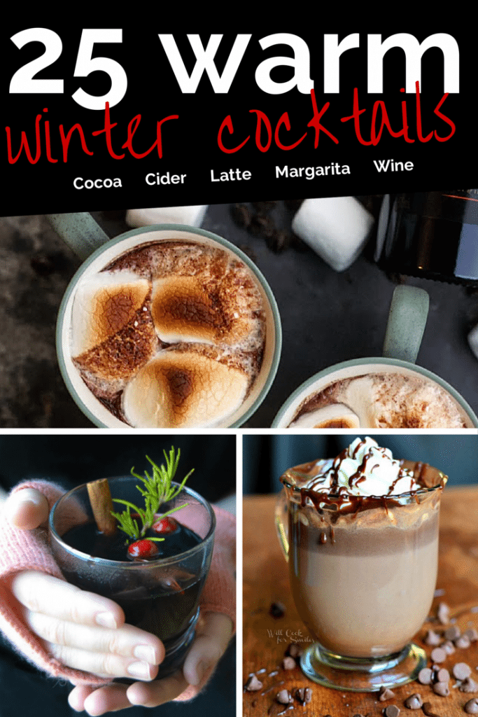 25 Warm Winter Drinks with Alcohol
