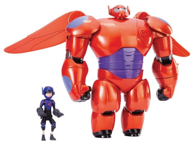 """Delux 11"""" Baymax and Hiro Action Figures"""