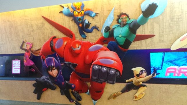 Big Hero 6 at Disney Animation Studio