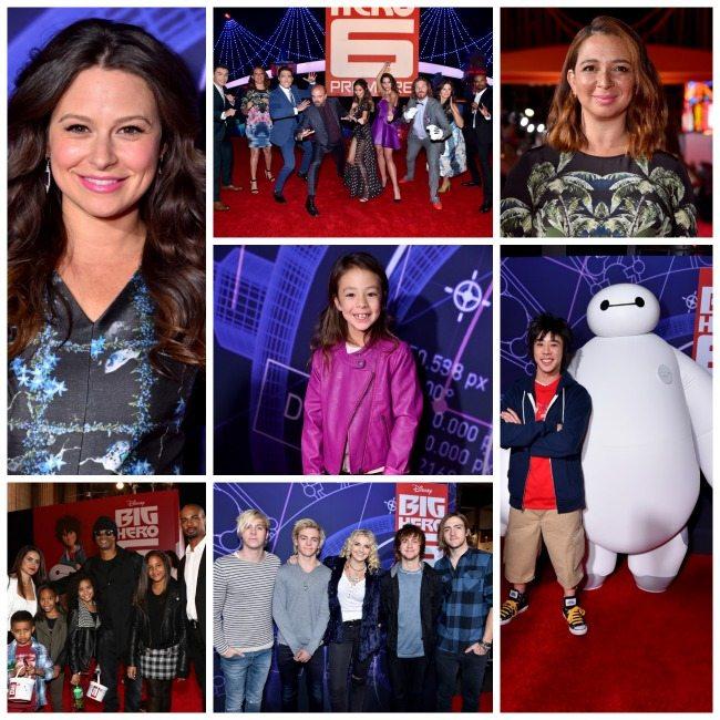 Celebrity sightings at the Big Hero 6 Premiere