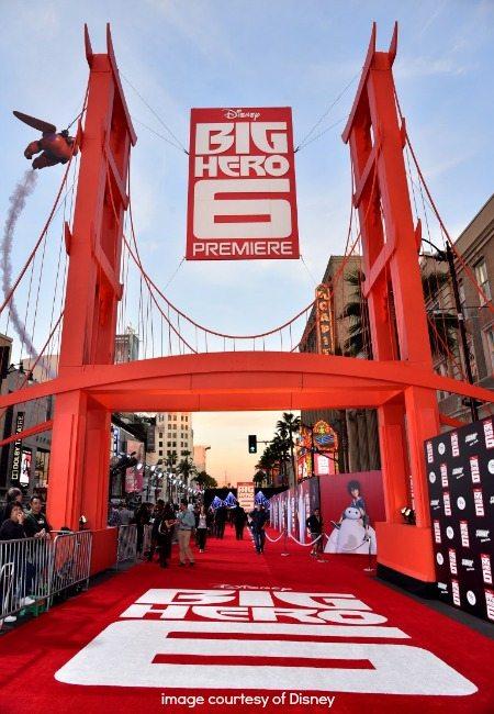 Big Hero 6 Red Carpet Premiere