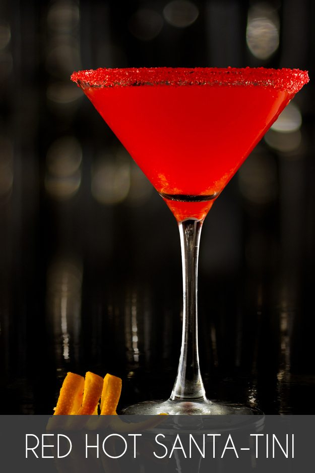 Red Hot Santa-Tini