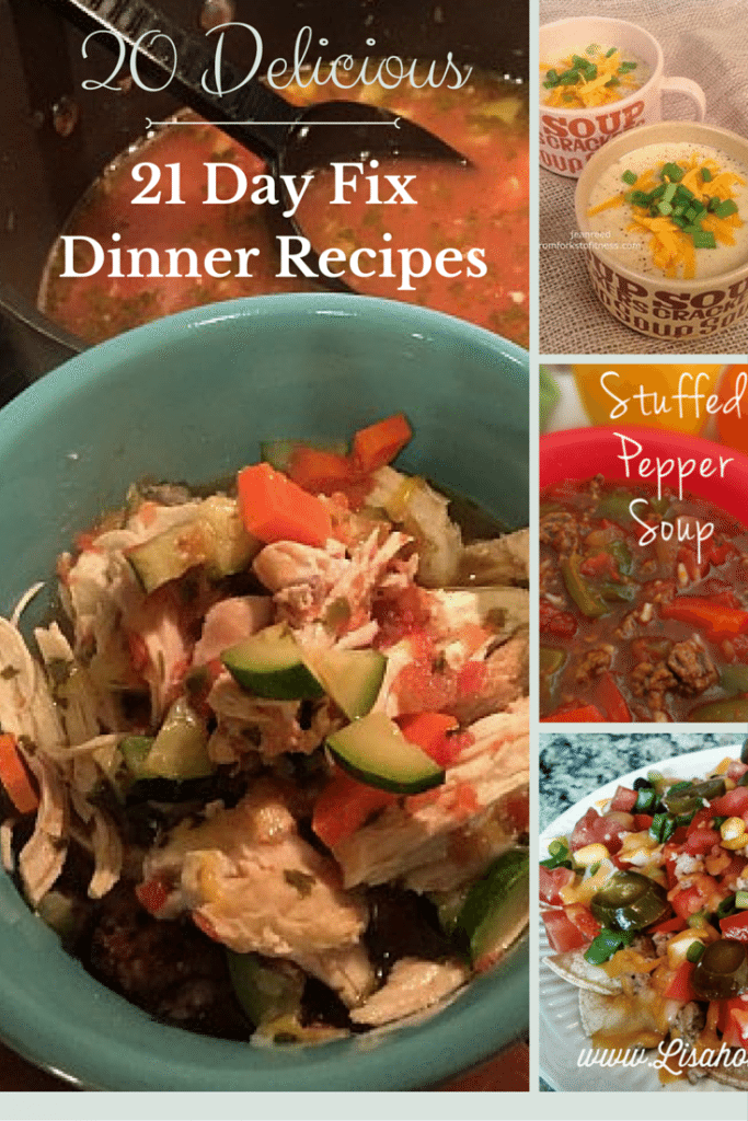 Clean Eating 21 Day Fix Dinner Recipes My Crazy Good Life