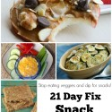 Yummy 21 Day Fix Snack Recipes