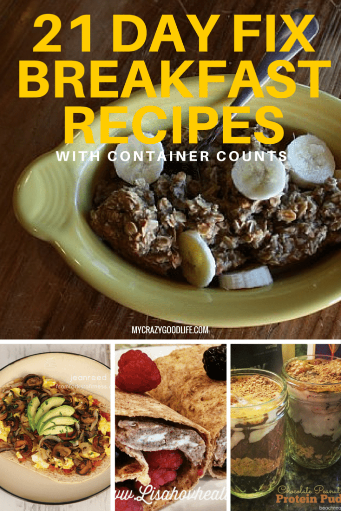 Clean Eating/21 Day Fix Breakfast Recipes