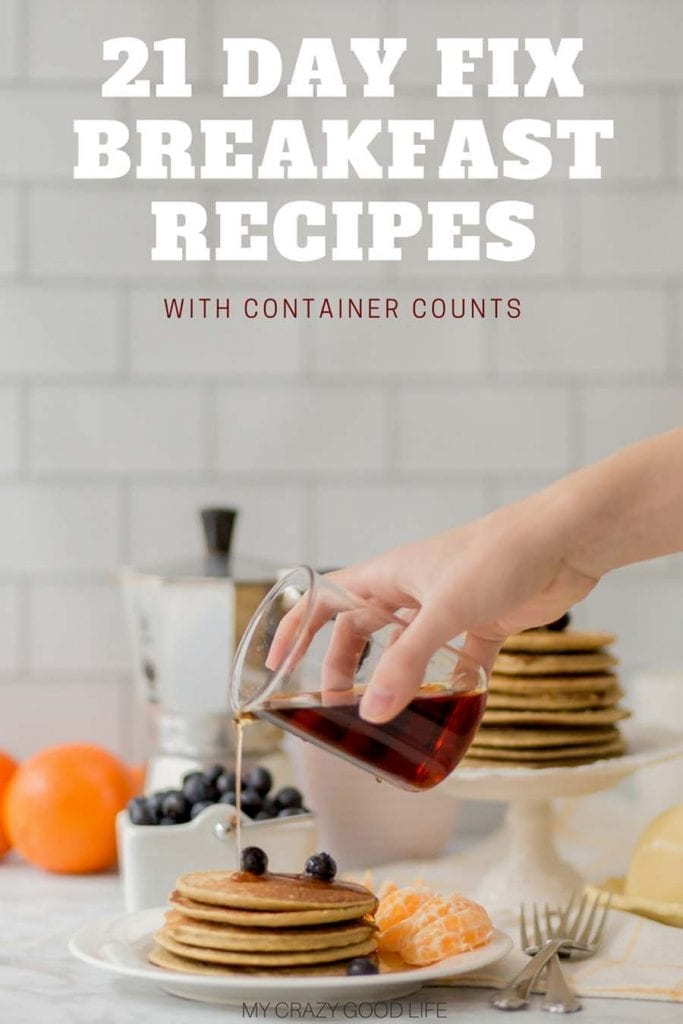 There are so many easy and healthy 21 Day Fix breakfast recipes here! You can meal prep breakfast recipes or make them daily–enjoy hearty breakfasts, light breakfast recipes, and on the go breakfast recipes! #21dayfix #beachbody