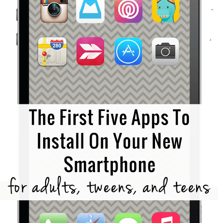 The first five apps to install on your new smartphone