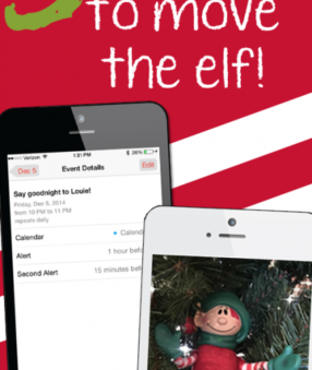 Do you forget to move the elf on the shelf? Here are my three ways to remember to move your elf!