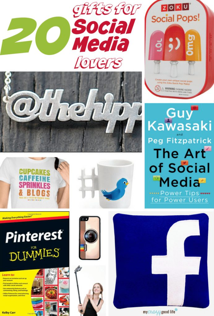 Gift Ideas For Social Media Lovers My Crazy Good Life