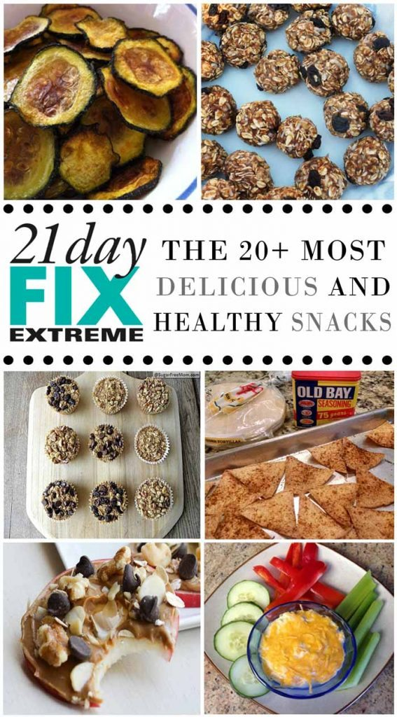 21 Day Fix Snack Recipes